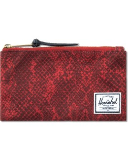Herschel Supply Co. Red Snake Network Small Pouch Picture