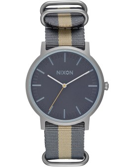 Nixon Porter Nylon with Gray Dial Picture