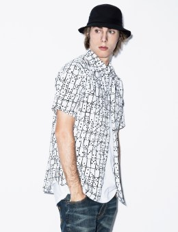 Stussy White Dominodwaegs S/S Shirt Picture