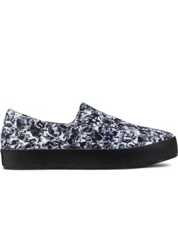 Opening Ceremony Multicolor Cut Collage Slip On Sneakers Picture