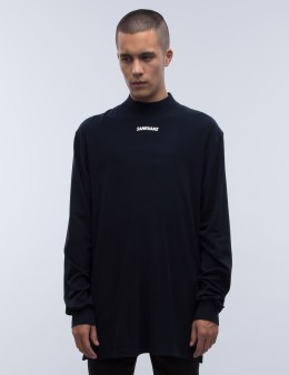 SANKUANZ Turtleneck L/S Logo T-Shirt Picture
