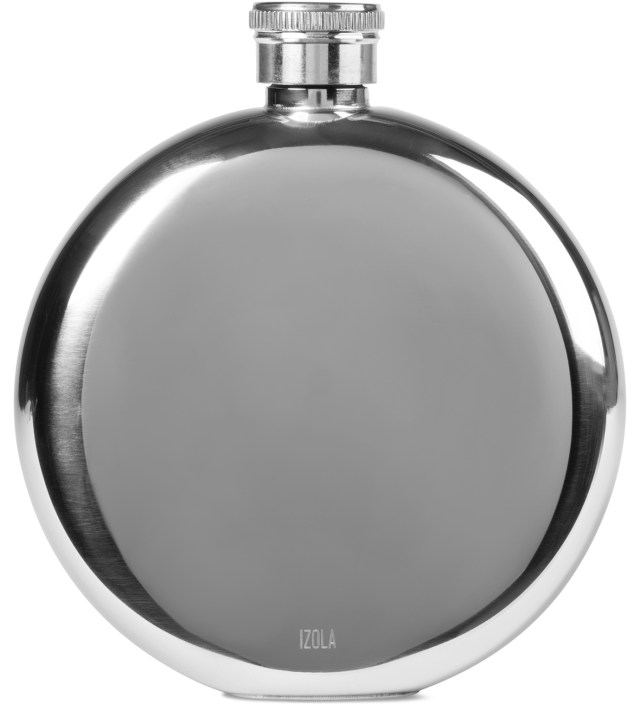 IZOLA Flask 5 oz (Put Some Hair On Your Chest) | HBX.