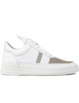 Filling Pieces Stripe Perforated Low Top Sneakers Picture