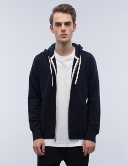 REIGNING CHAMP Mid Weight Terry Full Zip Hoodie Picture