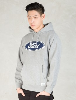 FUCT SSDD Grey F Oval Pullover Parka Picture