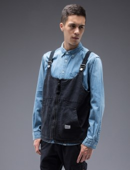 "BEDWIN & THE HEARTBREAKERS ""Dafoe"" Vintage Oxford Vest Picture"