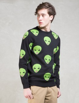 RIPNDIP We Out Here Knit Sweatshirt Picture