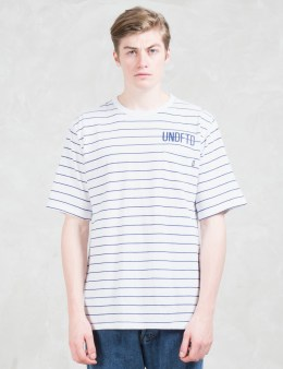 UNDEFEATED Stripe Pocket S/sl Shirt Picture