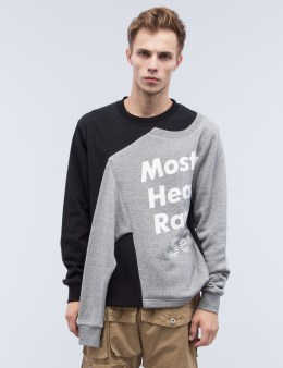 MOSTLY HEARD RARELY SEEN Illusion Crewneck Sweatshirt Picture