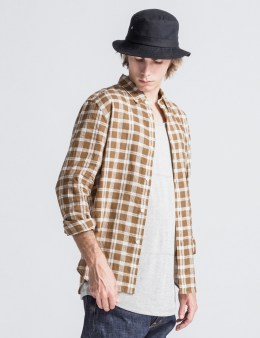 Head Porter Plus Mustard Check Shirt Picture