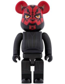 Medicom Medicom Toy 400% Bearbrick Star Wars Darth Maul Picture