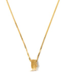 "Four Two Four 18K Gold 30"" Cuban Africa Pendant Necklace Picture"