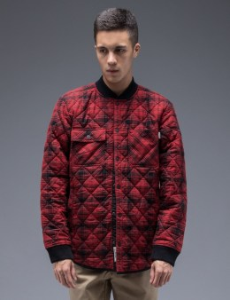 Carhartt WORK IN PROGRESS Red L/S Davies Shirt Jacket Picture