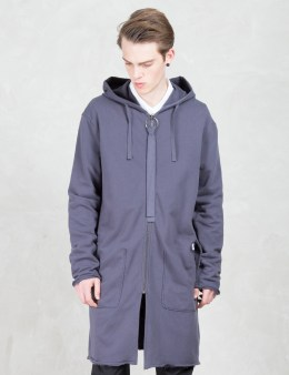 Damir Doma Coria Zip-front Long Sweat Coat Picture