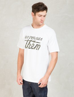Us Versus Them White Magnum FA15 T-Shirt Picture
