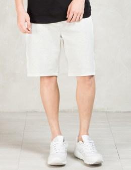 STAMPD Grey Regiment Shorts Picture