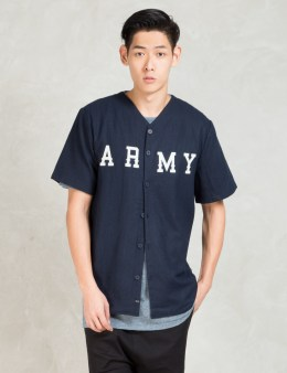 i love ugly. Navy Baseball S/s Shirt Picture