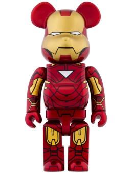 Medicom Medicom Toy 400% Bearbrick Iron Man Mark Vi Picture