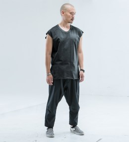 ACRONYM Black S9-C Cropped Sleeve Tank Top Picture