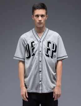10.DEEP Heather Grey Rise & Fall Baseball Jersey Picture