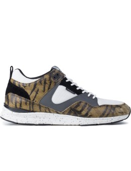 GOURMET Tiger Stripe/Black The 35 Lite SP Shoes Picture