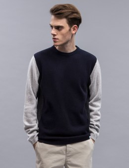 Norse Projects Sigfred Lambswool Block Pullover Sweater Picture