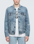 Levi's The Trucker Jacket Inside Game Picutre
