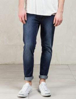 Nudie Jeans Indigo Deep Colbalt Lean Dean Jeans Picture