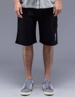 10.DEEP Black Stacks Sweatshorts Picture