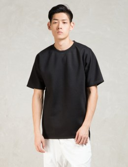 STAMPD Black S/S Tyse Crew W/strap T-Shirt Picture