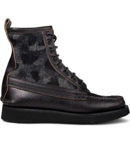 Yuketen Black Camo Maine Guide Boots Picture