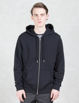 SUNSPEL Loopback Zip Front Hoodie Picture