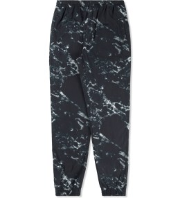 GRAND SCHEME Black Marble Track Pants Picture
