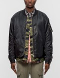 MAGIC STICK Combined Bomber Puff Jacket Picture