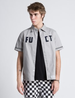 FUCT SSDD Grey FUCT 69 Baseball Shirt Picture