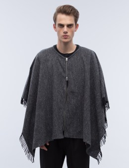 YMC Randy California Poncho Picture