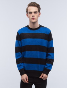 Stussy Stripe Mohair Crew Picture