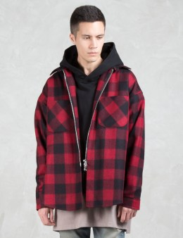 Dominans Stravan Wool Zip-Up Flannel Jacket Picture