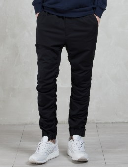 White Mountaineering T/C Stretch Shirring Pants Picture