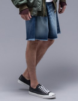 FACETASM Asymmetrical Denim Shorts Picture