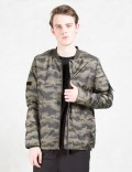 HALO Camo Bomber Jacket Picture
