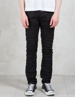 DIESEL BLACK GOLD Type-268 Rigid Black Japanese Denim 5 Pockets Jeans Picture