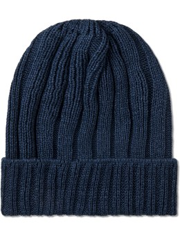 The Hill-Side Indigo Pima Cotton Knit Cap Picture