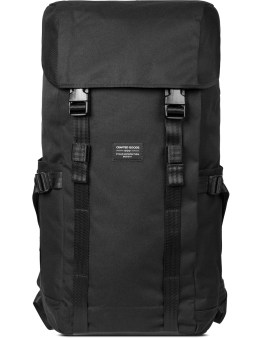 Crafted Goods Black/Orange Lining Kamino 30L BALLISTIC Backpack Picture