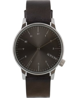 KOMONO Black Winston Regal Watch Picture
