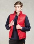 Manastash Red Blanket Lining Down Vest Picutre