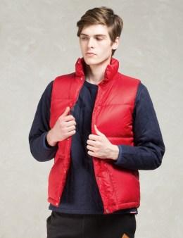 Manastash Red Blanket Lining Down Vest Picture