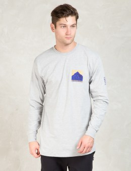 Stussy Grey Ls Outdoor Gear T-Shirt Picture
