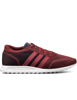 adidas Originals Red Los Angeles Shoes Picture
