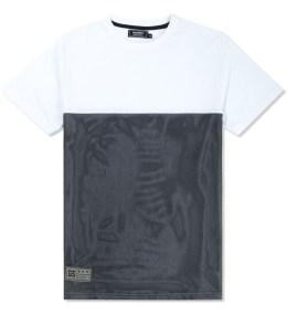 GRAND SCHEME White Mesh T-Shirt Picture